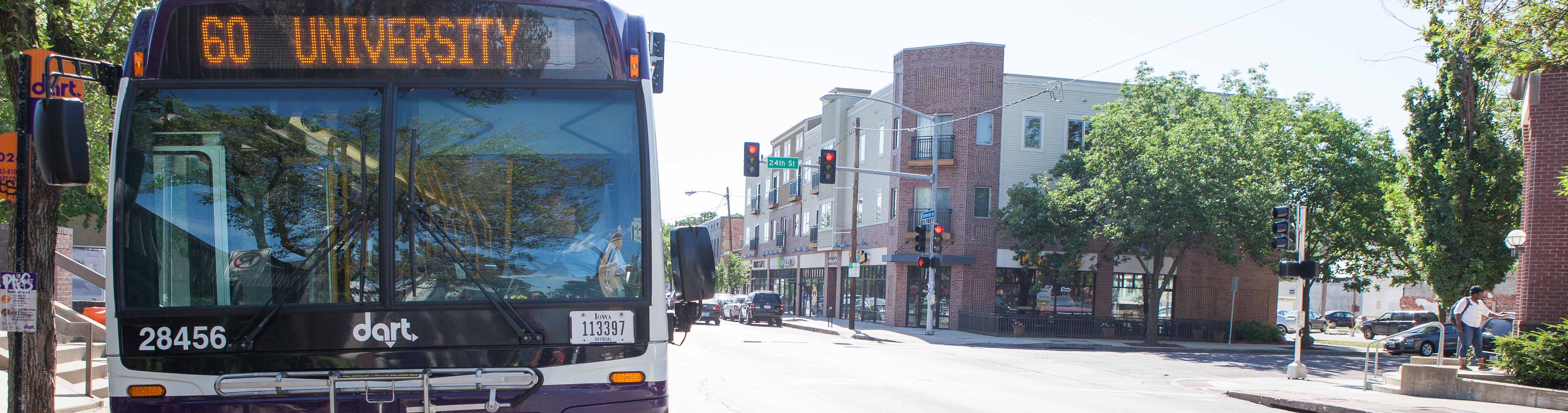 Try Transit Week is October 16 - 22. Ride free on DART Local, Express, Flex and On Call buses.