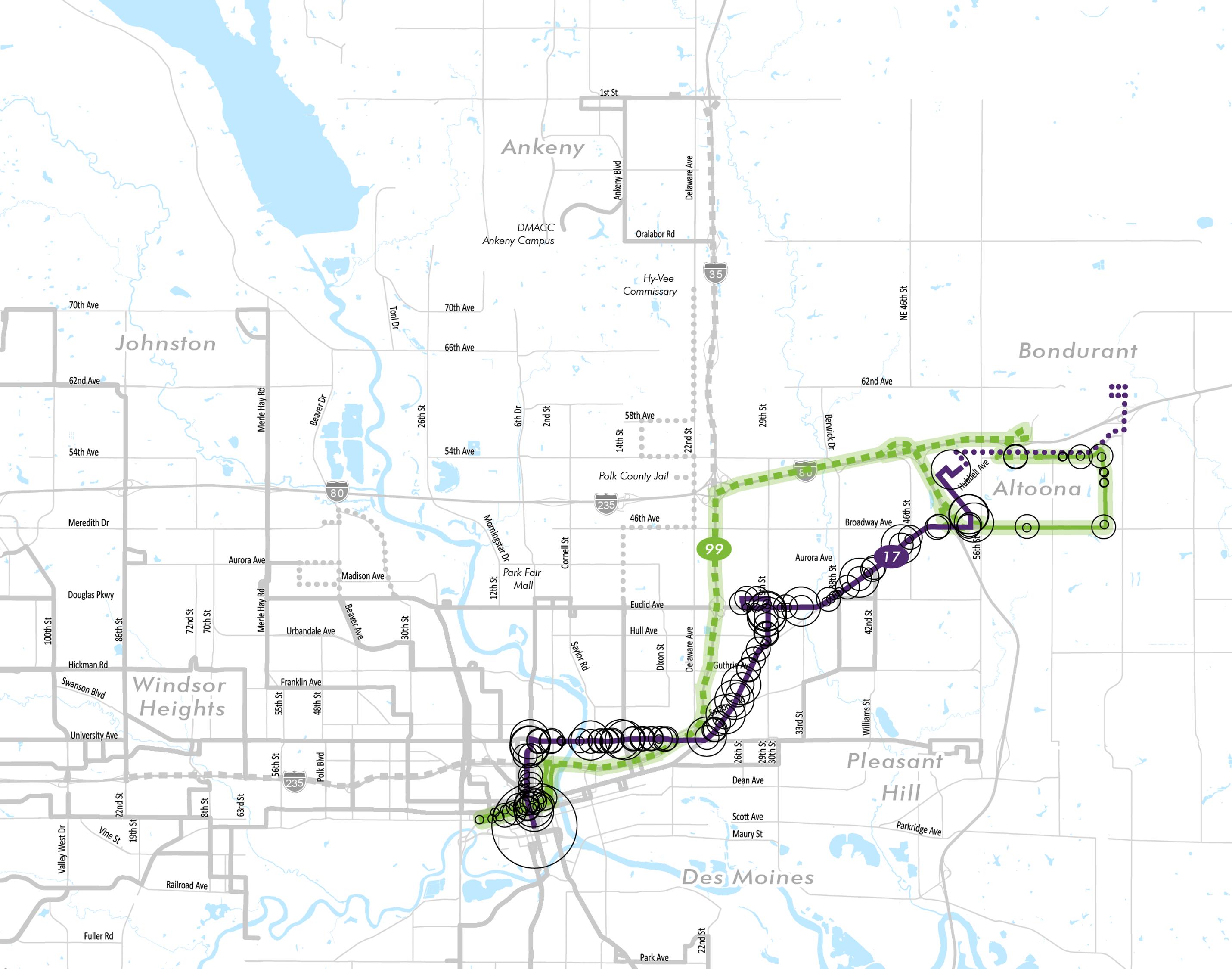 Altoona service proposals